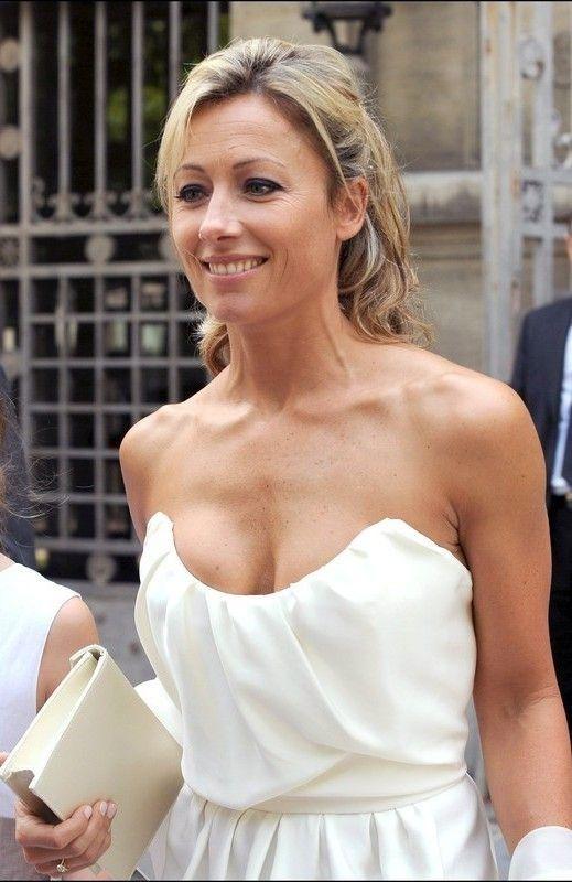 Anne Sophie Lapix Vanessa Paradis